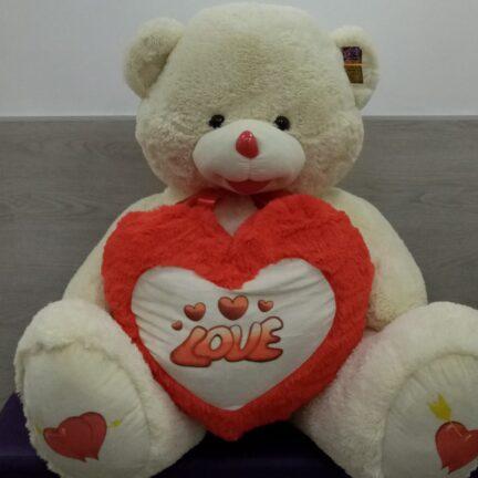 Мишка с сердцем 170см